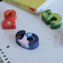 Crayons & Play Dough