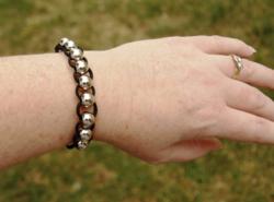Silver Bead Fidget Bracelets